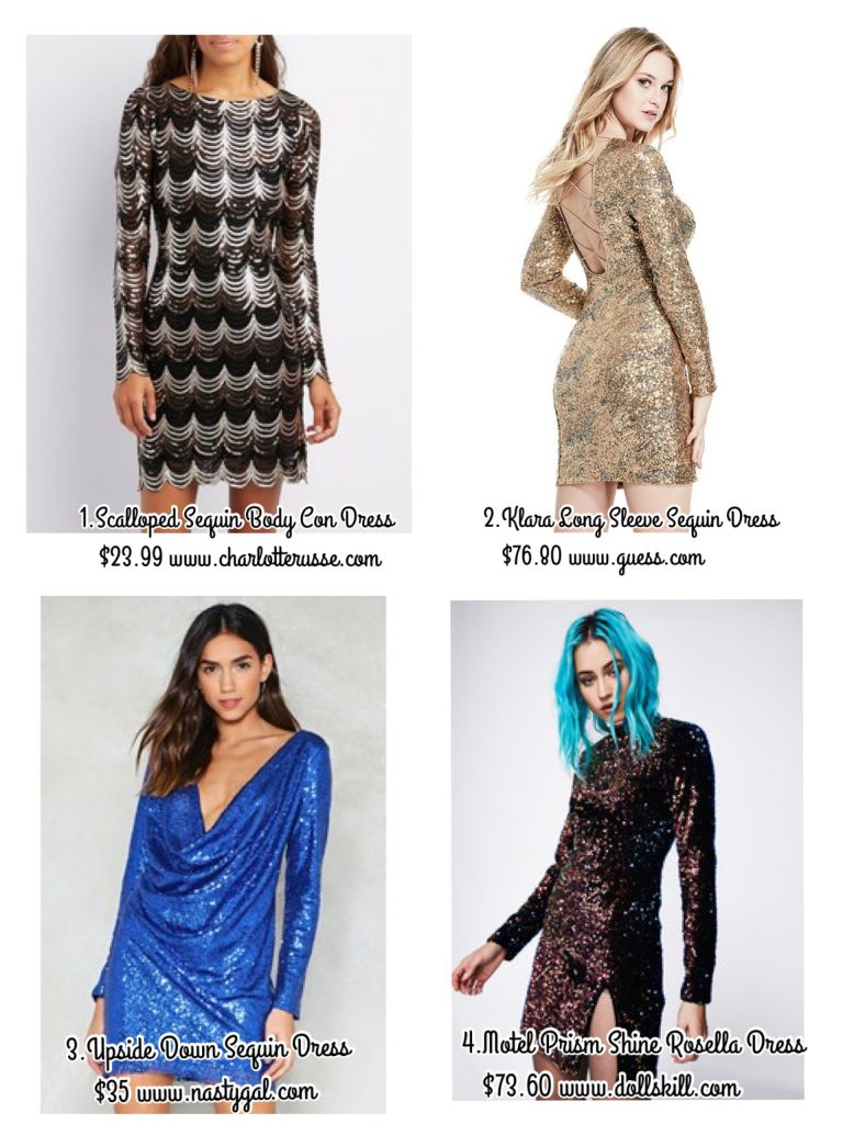 c9fd950512 These are our picks for the best sequin dresses under  100 so you can go to  all those holiday parties without wearing the same thing and not breaking  the ...