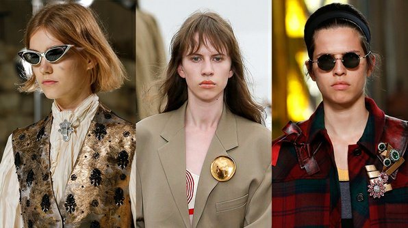 Brooch trend for Summer 2018